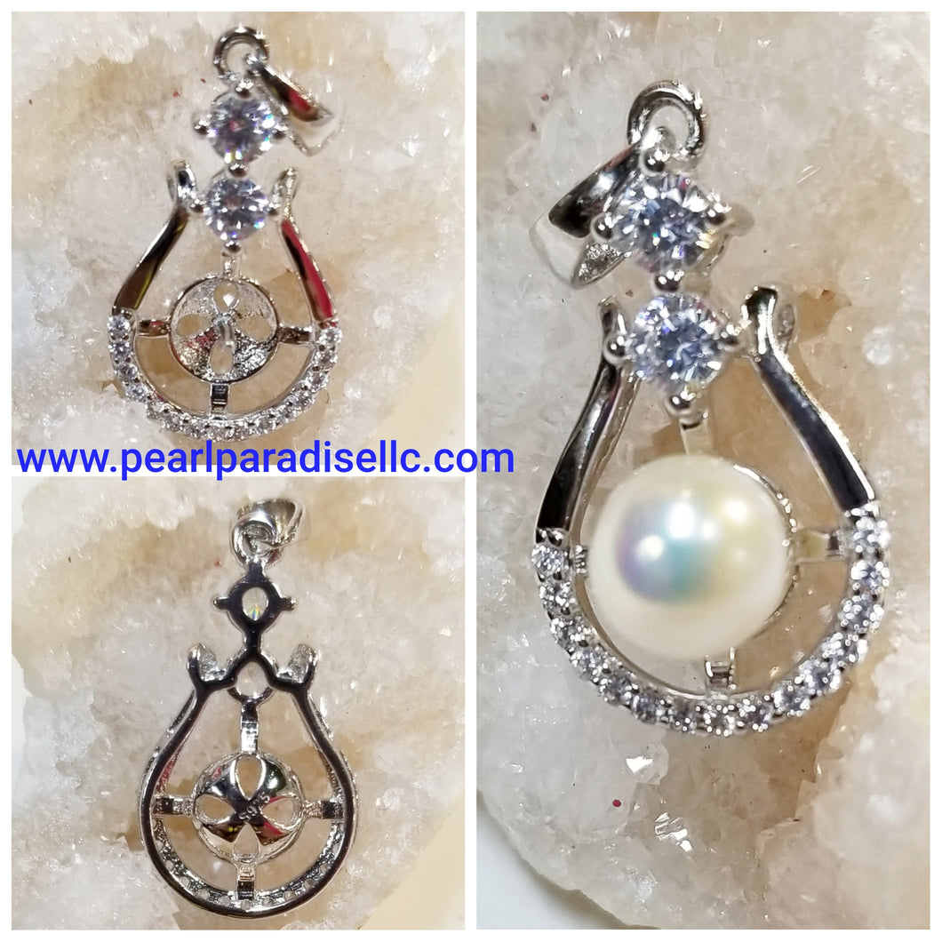 Oval Shape Mount Pendant