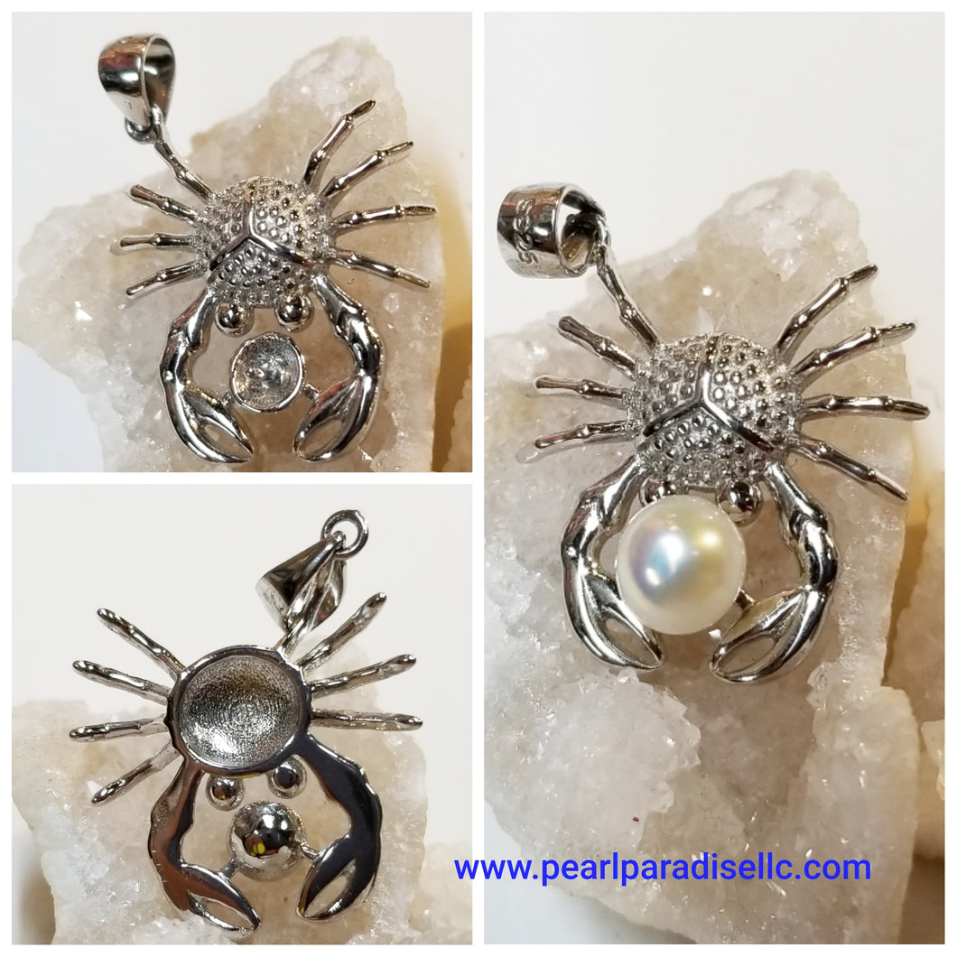 Crab Mount Pendant