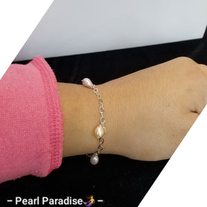 Dangle Pearl Bracelet