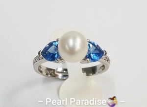 Aquamarine Heart Ring Mount