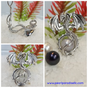 Dragon Cage Pendant
