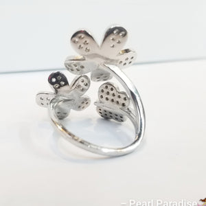 Double Butterfly Ring Mount