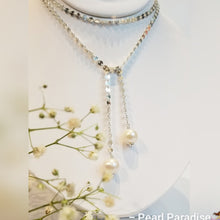 Load image into Gallery viewer, Coin Multi-Styles Necklace With Freshwater Pearls