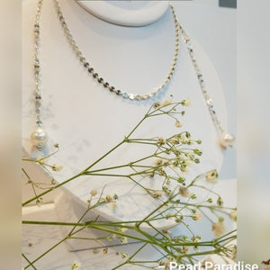 Coin Multi-Styles Necklace With Freshwater Pearls