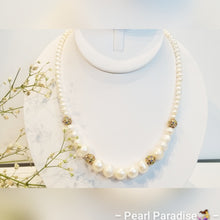 Load image into Gallery viewer, Night Freshwater Pearl Necklace