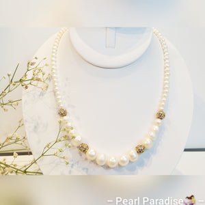 Night Freshwater Pearl Necklace