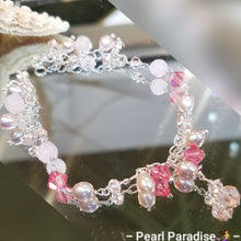 Load image into Gallery viewer, Pink Pearl Bracelet