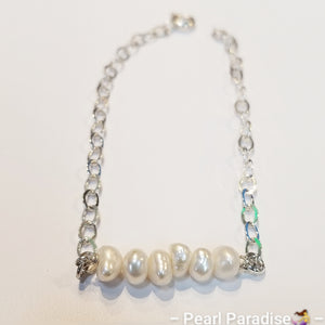 Love At First Sight Pearl Bracelet
