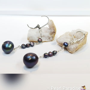 Just Right Pearl Drop Earrings