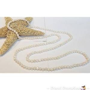 "64"" Freshwater Pearl Necklace"