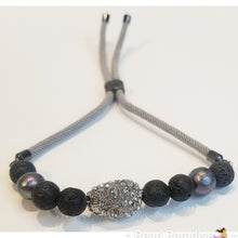 Load image into Gallery viewer, Volcano Bead Adjustable Bracelet
