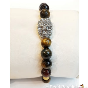 Tiger Eye Adjustable Bracelet