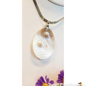 Mother Oyster Necklace