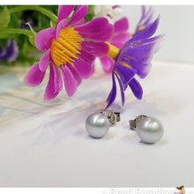 Load image into Gallery viewer, Freshwater Pearl Studs 6.0-7.0 mm