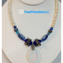 Load image into Gallery viewer, Deep Blue Necklace