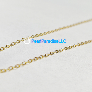 14K Gold Filled Cable Chain