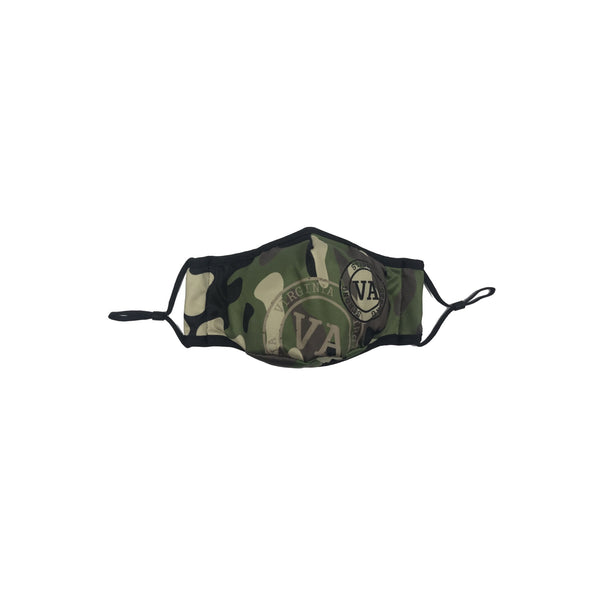 Virginia- Camouflage Mask Green