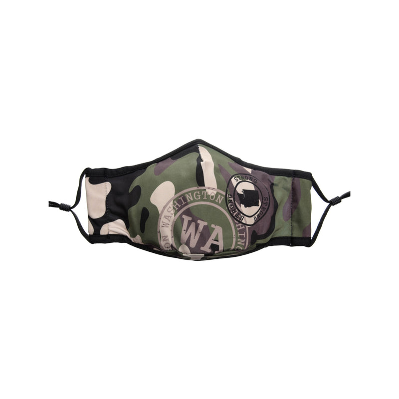 Washington- Camouflage Mask Green