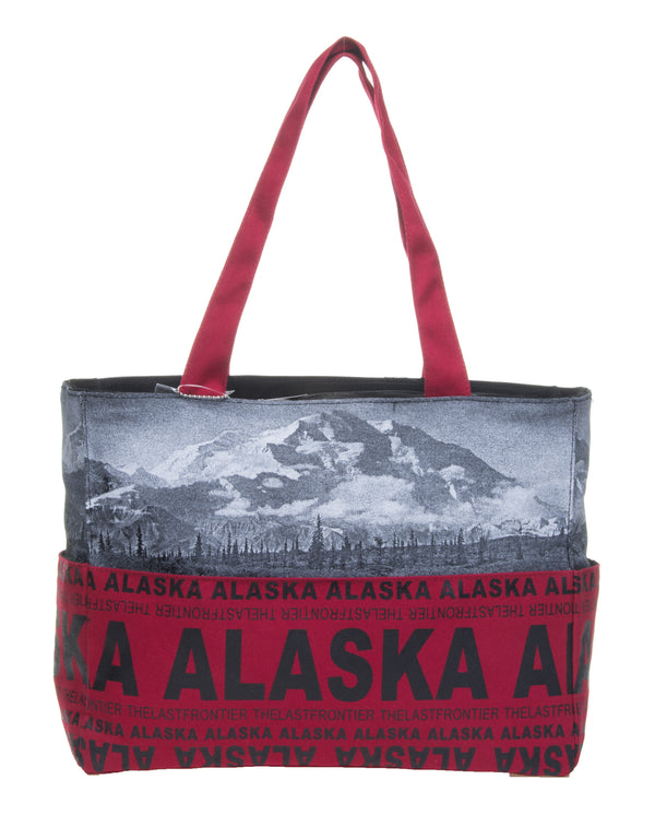 SKYLINE- ALASKA MEDIUM TOTE