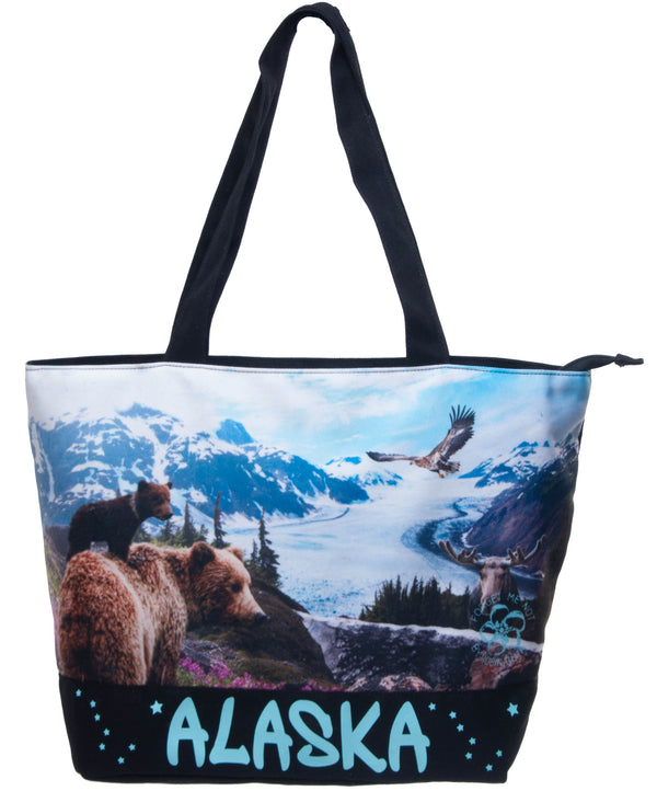 Skyline Digital- Alaska Medium Tote