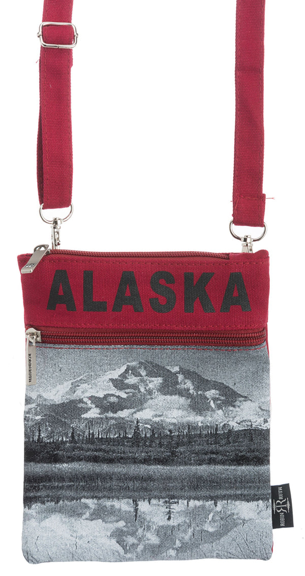SKYLINE- ALASKA NECK WALLET