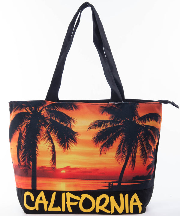 Skyline Digital- California Sunset Medium Tote