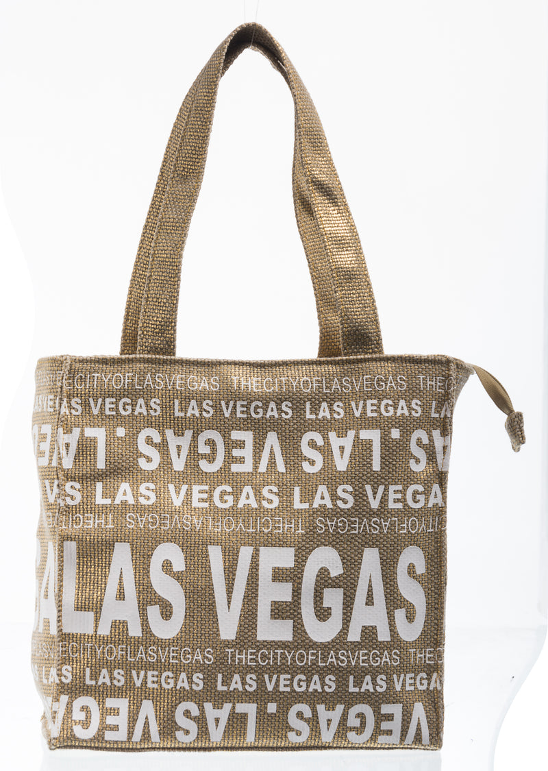 The City Of- Las Vegas Small Tote