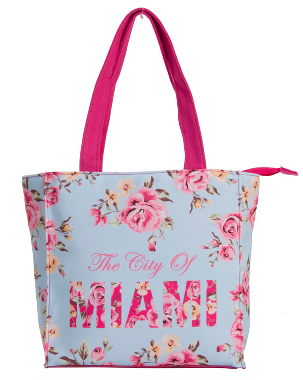 The City Of Floral- MIAMI SMALL TOTE