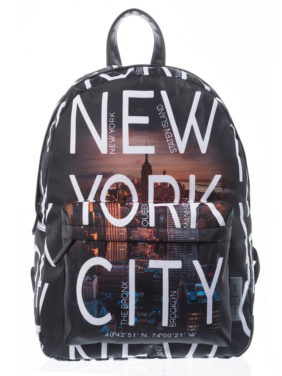 NYC SKYLINE BACKPACK – WHITE