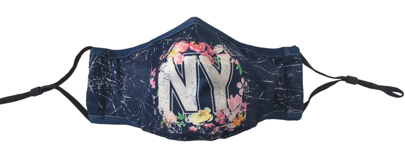New York- Floral Mask