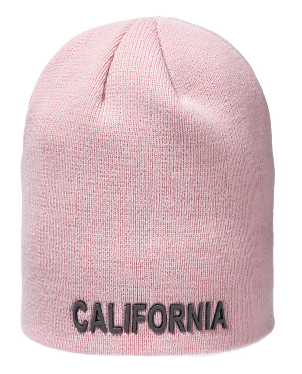 Silicone Winter Beanie- California