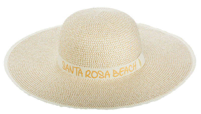 STRAW HAT- SANTA ROSA BEACH