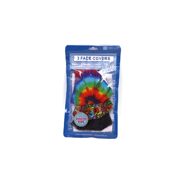 YOUTH 3 PACK- TIE DYE