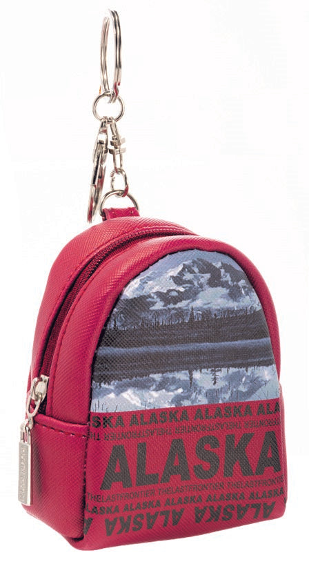 SKYLINE- ALASKA BACKPACK KEYCHAIN