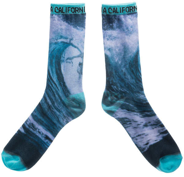 Digital Scenery- California Socks