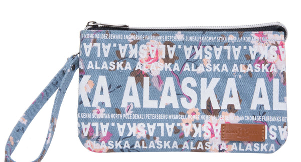 Amanda Collection- Alaska Wristlet
