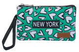 Hearts Collection- NY Wristlet