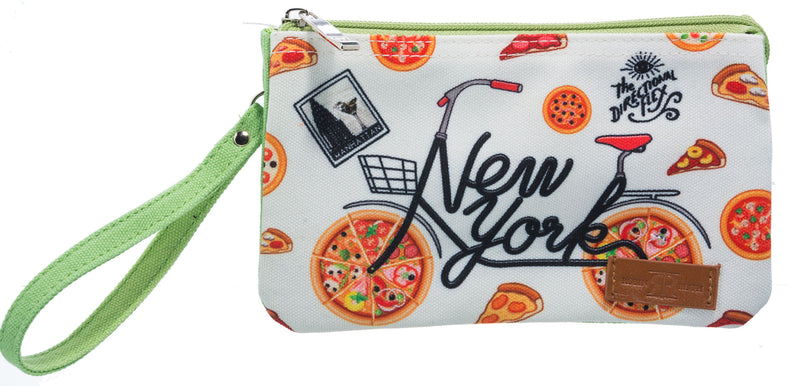 Directional Flex- NY Wristlet Green