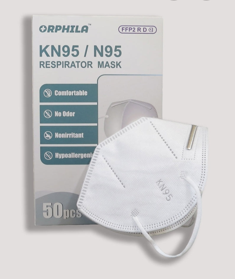 KN95 PM2.5 Face Mask 50pcs
