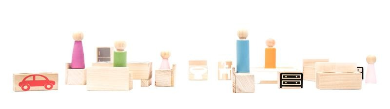 Set Muebles Kit - Kit Mobiliario