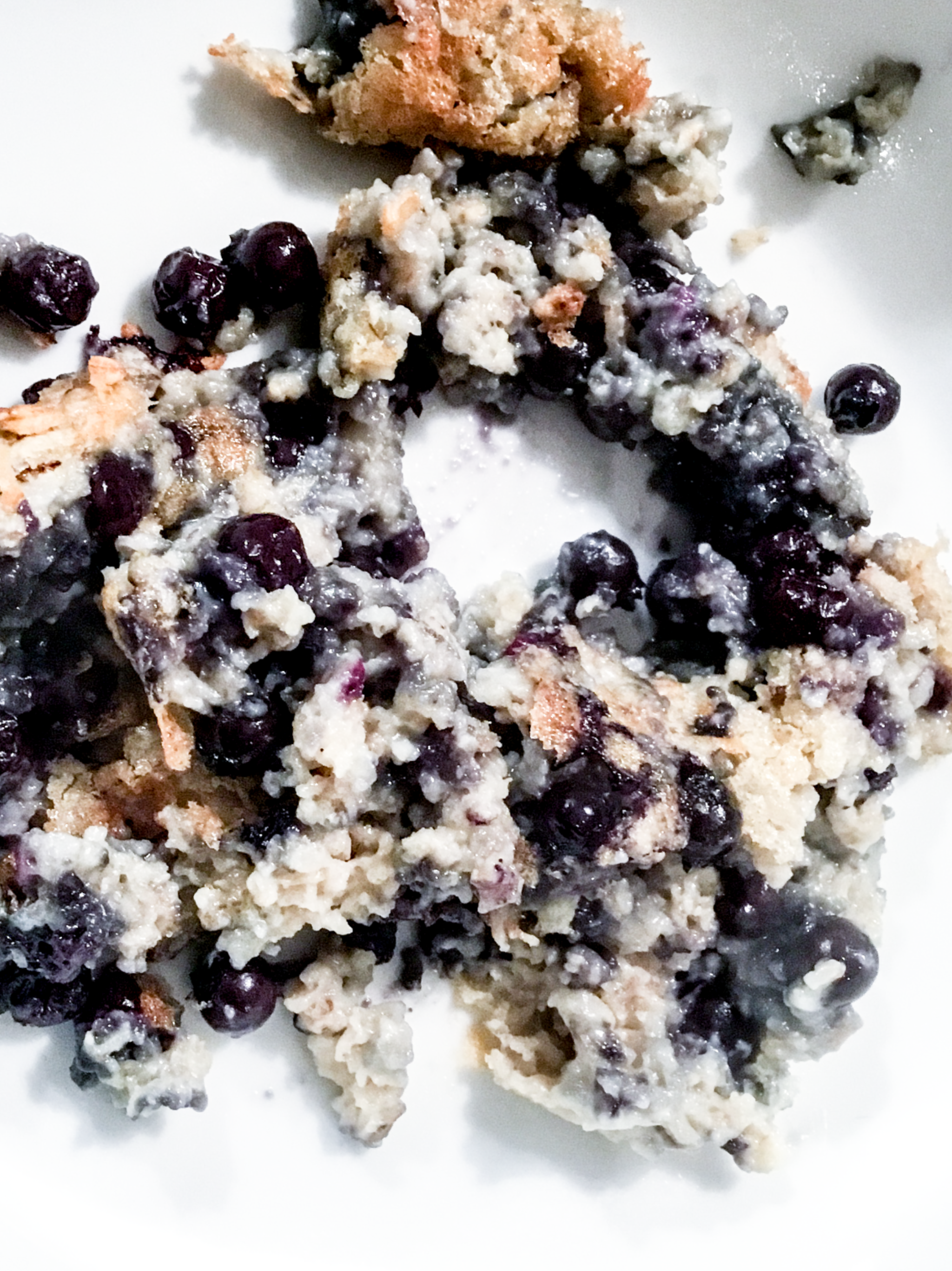 Sprouted Flax , Oatmeal and Blueberry