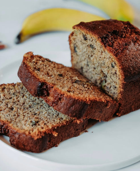 Sprouted Wheat Banana Bread