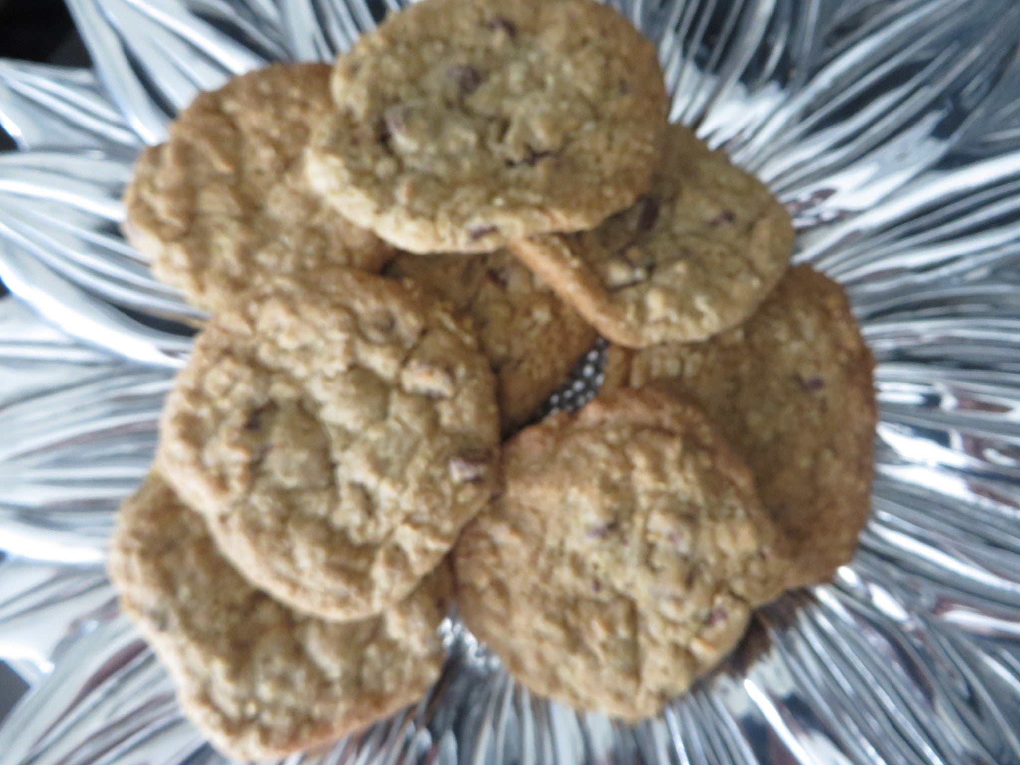 Sprouted Whole Wheat Chocolate Chip Cookies
