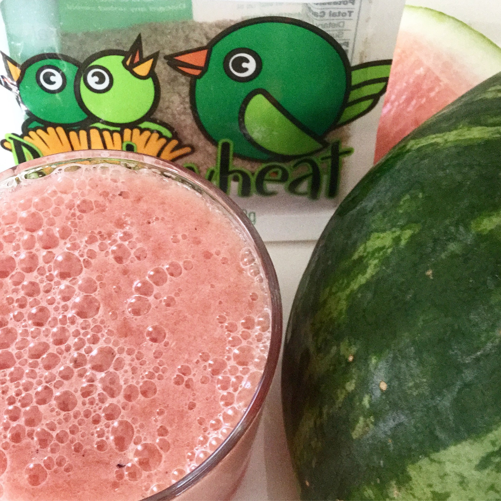 Watermelon Buckwheat Slushy