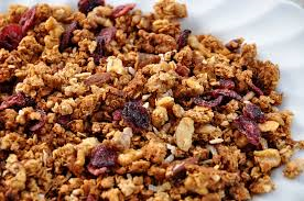 Sprouted Flax Granola