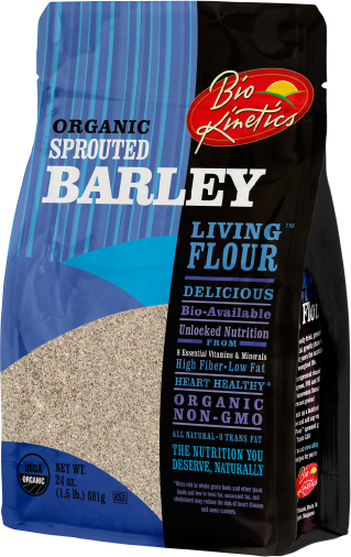 Organic Sprouted Barley Flour