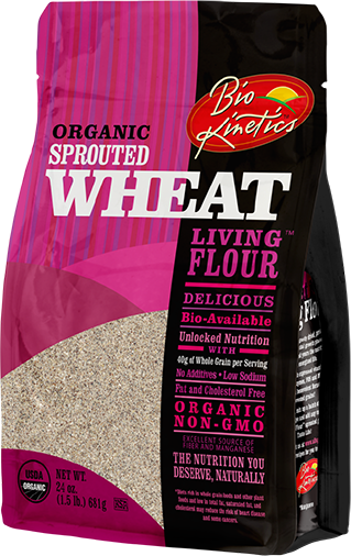 Organic Sprouted Wheat