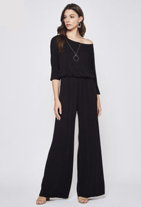 Knit Jumpsuit (Black)