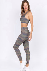 Camo Performance Leggings