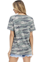 Load image into Gallery viewer, Camo Short Sleeve Tee